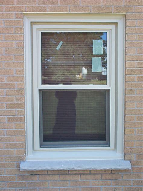 hung all american window door