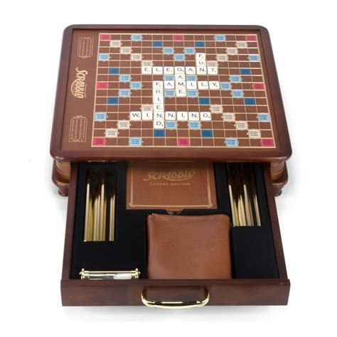 scrabble ed scrabble luxury edition