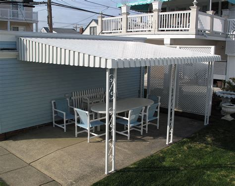 aluminum patio awning windows doors in cape may nj aluminum awnings gallery