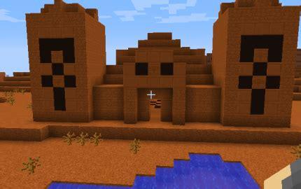 red desert temple creation