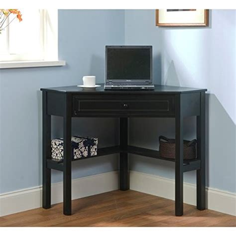 Small Wood Corner Desk Corner Computer Desk Small Wood Laptop Table Top With Drawer For Homew