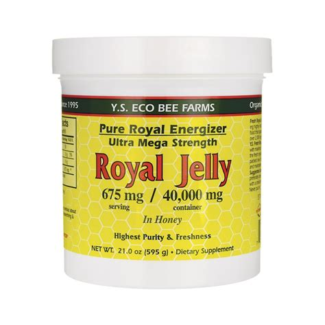 Chanel Jelly 002 Abu K royal energizer royal jelly in honey 675 mg 21 oz 595 grams paste