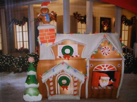 Outdoor Gingerbread House Decorations by Outdoor Gingerbread House Decorations