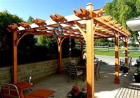 pergola kits 12x16 breeze pergola outdoor living today