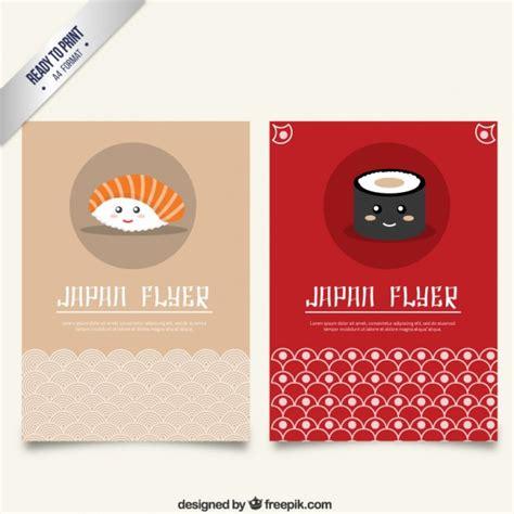 flyer design japan japan flyer vector free download