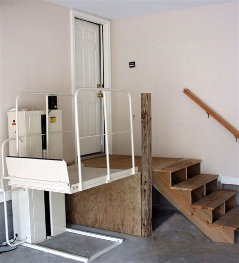 wheelchair r in garage low cost solutions for