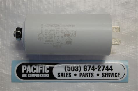40 Uf Capacitor by 009200026f Rolair Capacitor 40uf Pacific Air Compressors