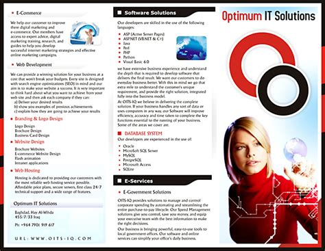 how to make executive brochure design kooldesignmaker