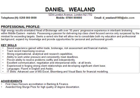 skills and interests resume exles cv hobbies and interests sle