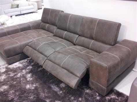 sofa with chaise lounge and recliner recliner sofa with chaise sofa reclining chaise recliner