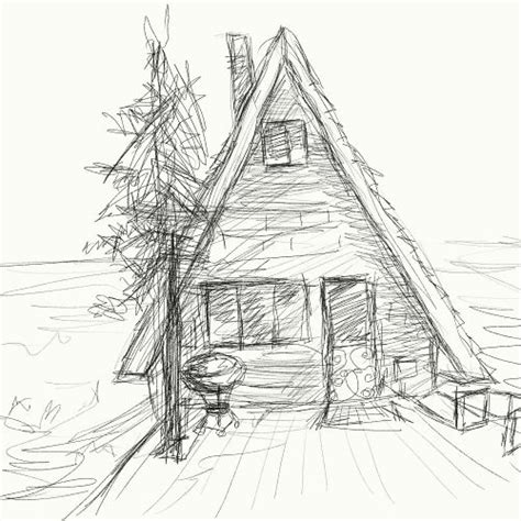cabin sketch cabin sketch esotropiart gallery