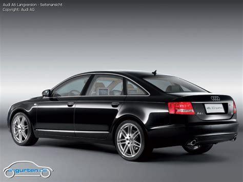 Audi A6 Lang by Foto Audi A6 Langversion Seitenansicht Bilder Audi A6