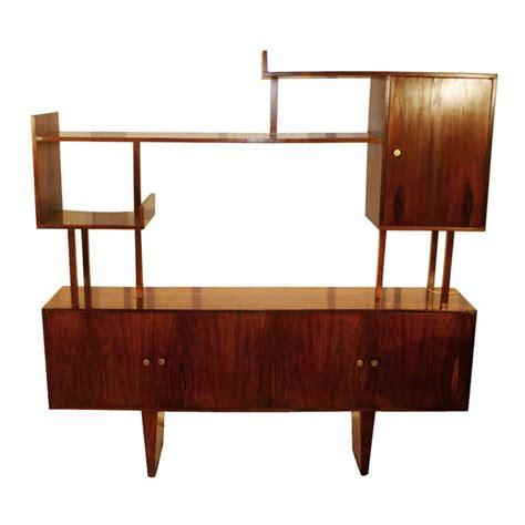 mid century shelving unit funiture