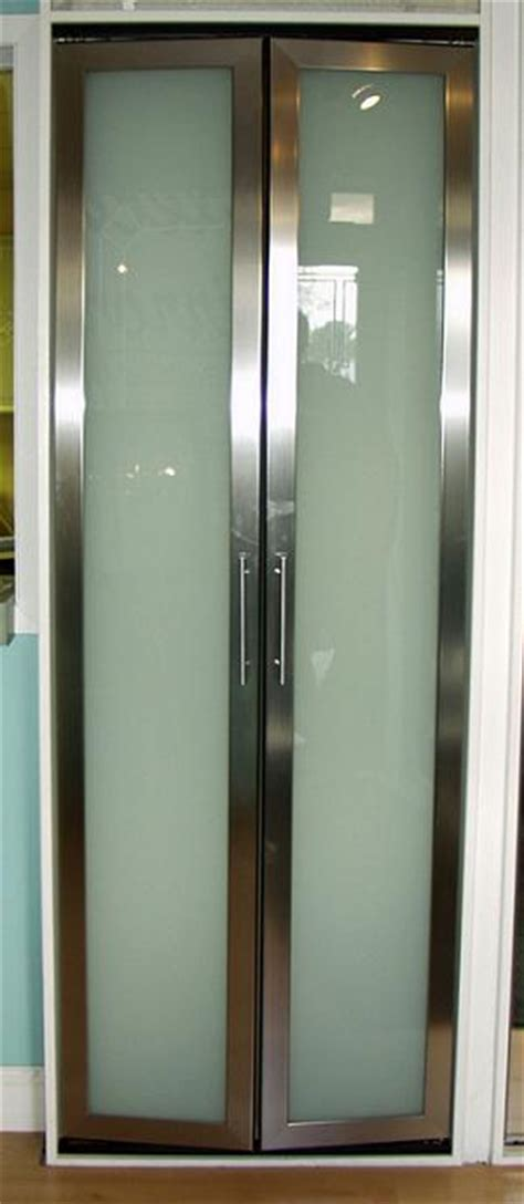 Modern Glass Bifold Closet Doors Roselawnlutheran Contemporary Bi Fold Closet Doors