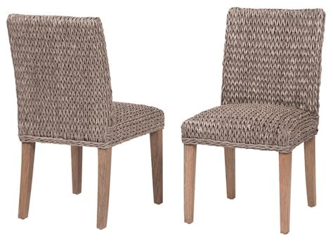 molokai dining chair tropical dining chairs by