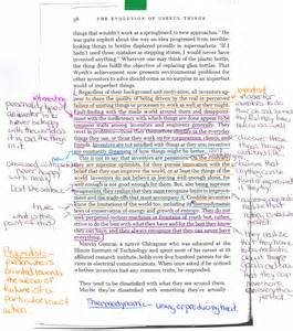 annotated essay exle how to annotate an essay electronic annotation of student essays without grademark ayucar
