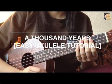 payphone fingerstyle tutorial no capo a thousand years christina perri easy ukulele tutorial