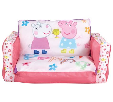 peppa pig flip out sofa buy peppa pig junior flip out sofa at argos co uk your
