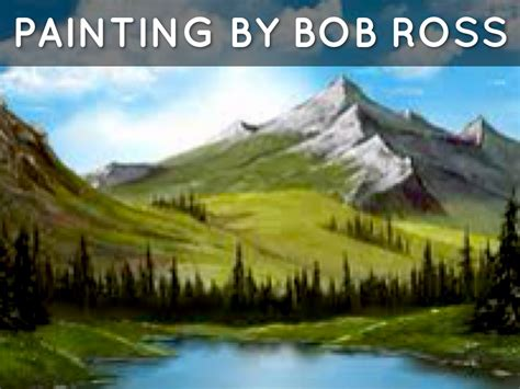 bob ross paintings how many water skiing by louis mick