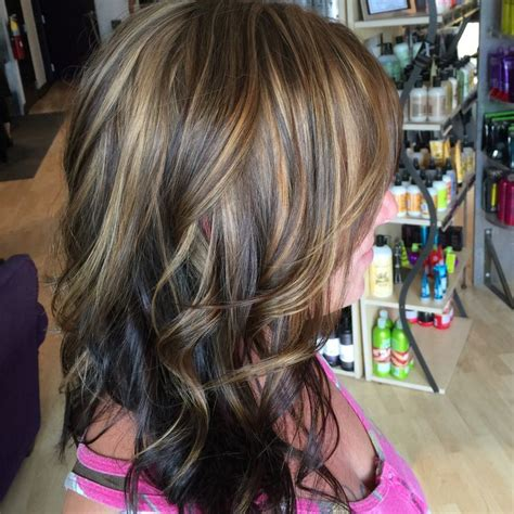 honey highlights for dark brown hair on inverted bob 34 best hair ideas images on pinterest hairstyles hair