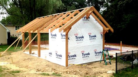 Garden Shed Floor Plans by Pool House Vlog Post Amp Beam Framing Complete Vanquest
