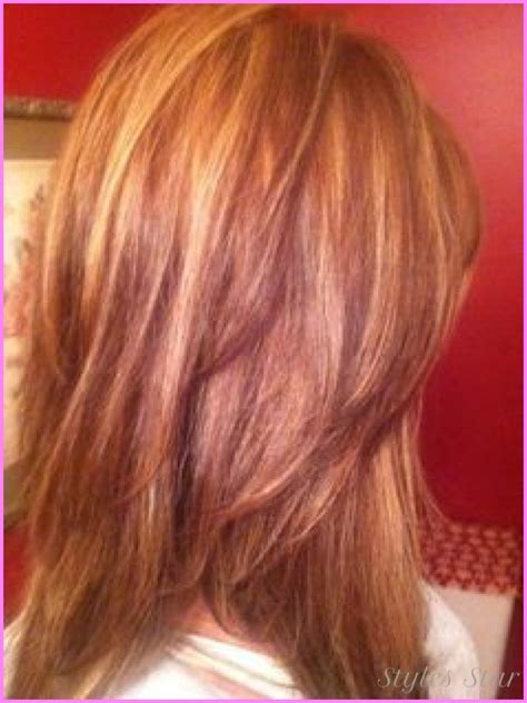 red hair with lowlights highlights and lowlights for red hair stylesstar com