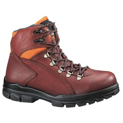 s work boots s wolverine 174 durashocks 174 6 quot waterproof steel toe eh