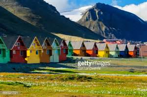 how to buy a house in norway colorful houses in svalbard norway stock photo getty images