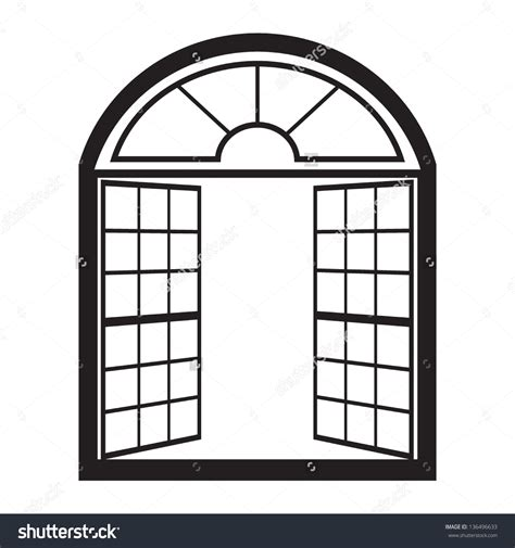clipart windows window outline clipart