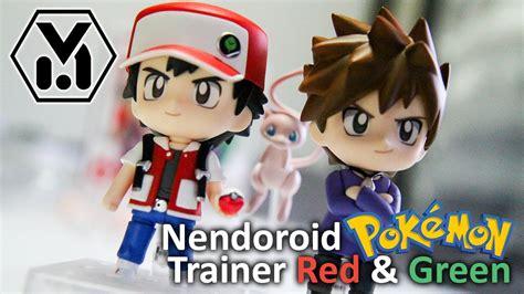 Nendoroid Trainer Green nendoroid 612 trainer green unboxing