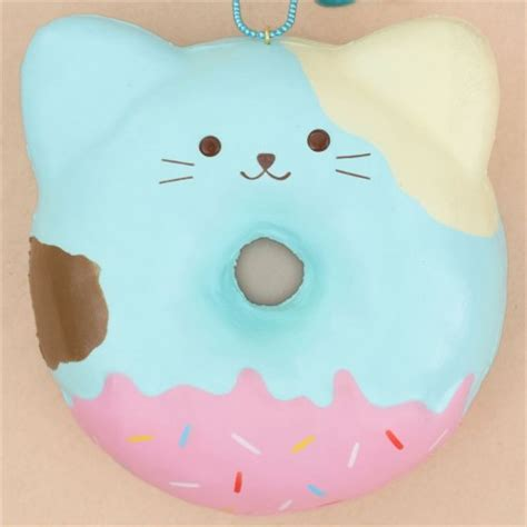 Squishy Cafe Animal Donut Cafe Animal Donut puni maru squishy ciambella gatto puni maru squishy shop