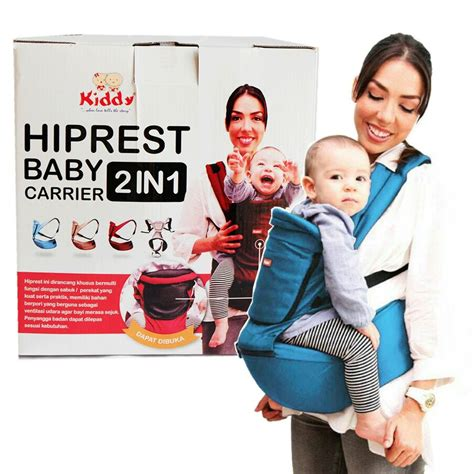 Gendongan Bayi Kiddy hiprest baby carrier 2in1 kiddy gendongan bayi hiprest