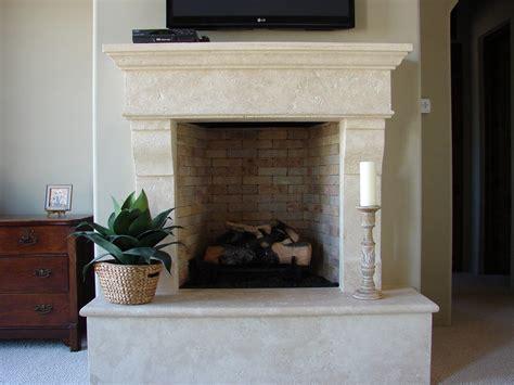 travertine tile fireplace surround limestone travertine fireplace casa de cantera