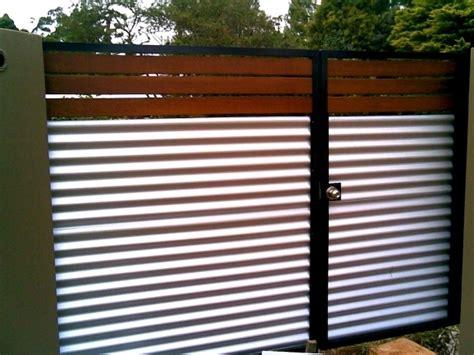 corrugated metal fence ideas corrugated metal fencing fence ideas