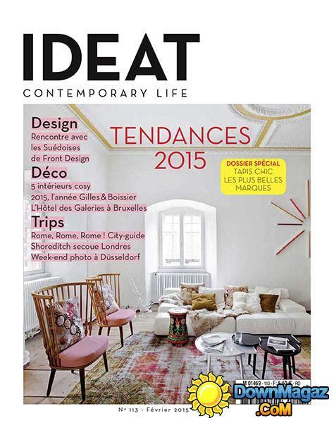 design home magazine no 57 2015 ideat f 233 vrier 2015 no 113 187 download pdf magazines