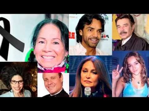 las muertes de artistas famosos taringa famosos lamentan muerte de la india maria youtube