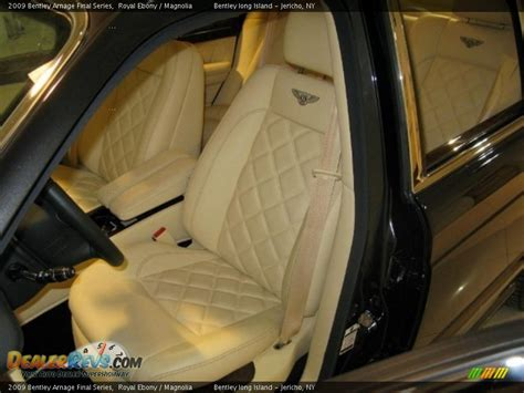 2009 bentley arnage interior magnolia interior 2009 bentley arnage final series photo