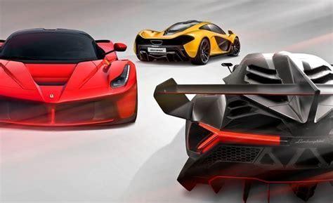 Lamborghini Veneno Vs Laferrari Hyping Hypercars 2014 Laferrari Vs 2014 Mclaren