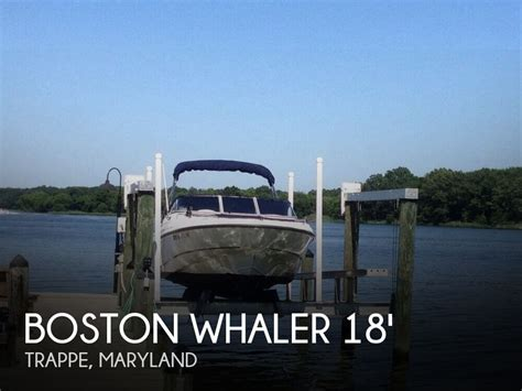 whaler boats for sale in maryland sold boston whaler 180 ventura boat in trappe md 110720