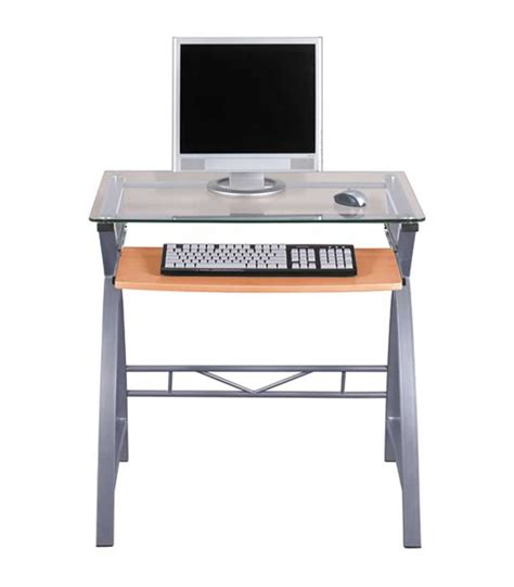 z line computer desk z line glass computer desk for home office