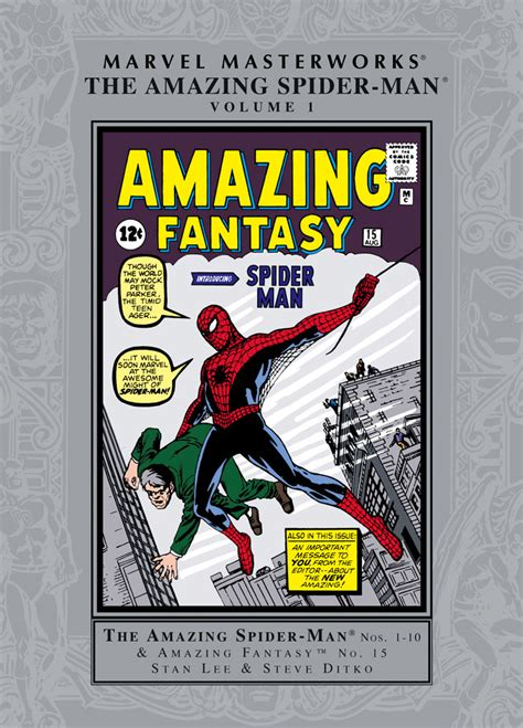 marvel masterworks the amazing spider volume 1 new printing amazing spider masterworks vol 1