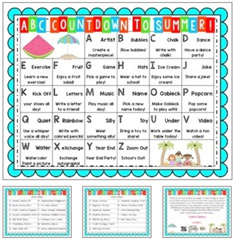 Kalender Countdown 14 Alphabet Countdown Calendars Here Comes The End Of The