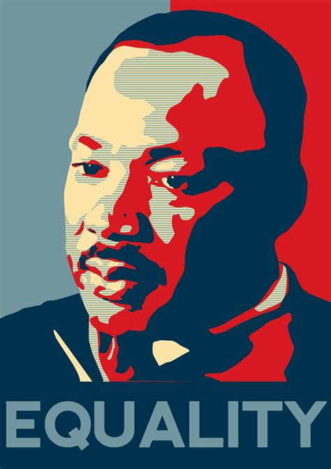 Martin Luther King, Jr. Poster ? Juicy Poster