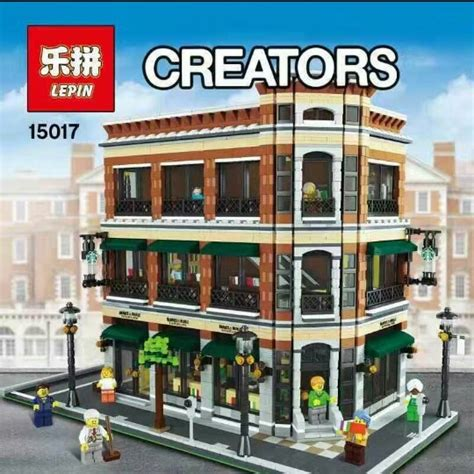 Brick Bootleg Lepin 02038 City Square lepin from lego sets to lego fan designs the brick