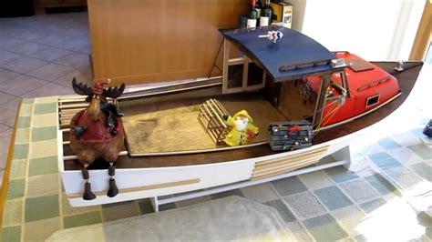 lobster boat model plans the snapp2it rc model lobster boat dry run youtube