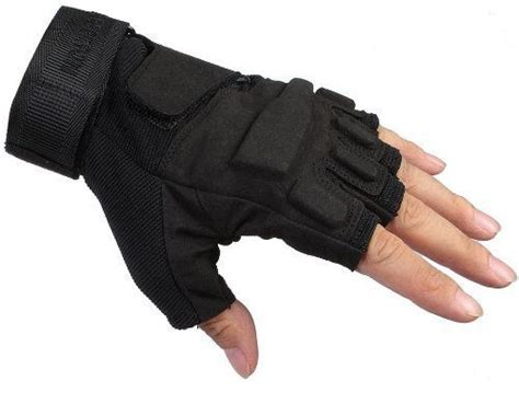 Gloves O Halffinger mens black special ops assault gloves tactical fingerless half finger gloves l ebay