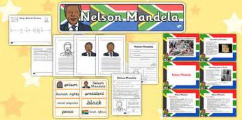 nelson mandela biography for ks2 nelson mandela resource pack ks2 nelson mandela pack ks2