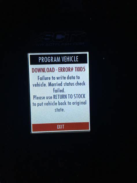 sct  error