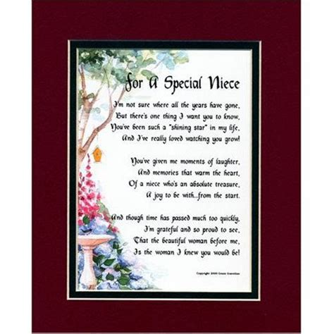 niece poems  quotes niece poem image search results quotespoems birthday poems