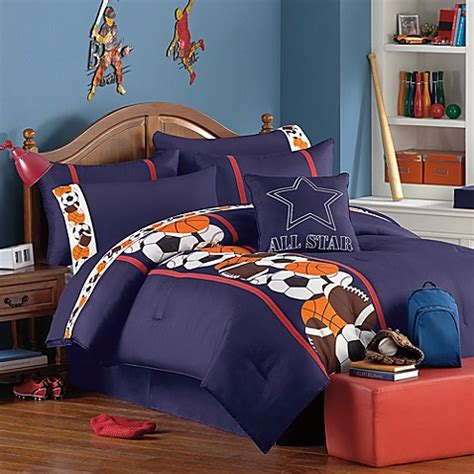 sports theme bedding owen sports theme comforter super set bed bath beyond